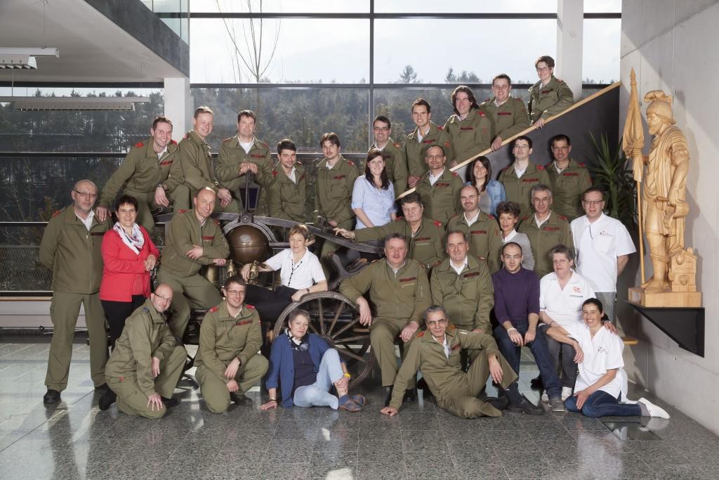 Das Personal der Landes- Feuerwehrschule Tirol im Jahr 2013