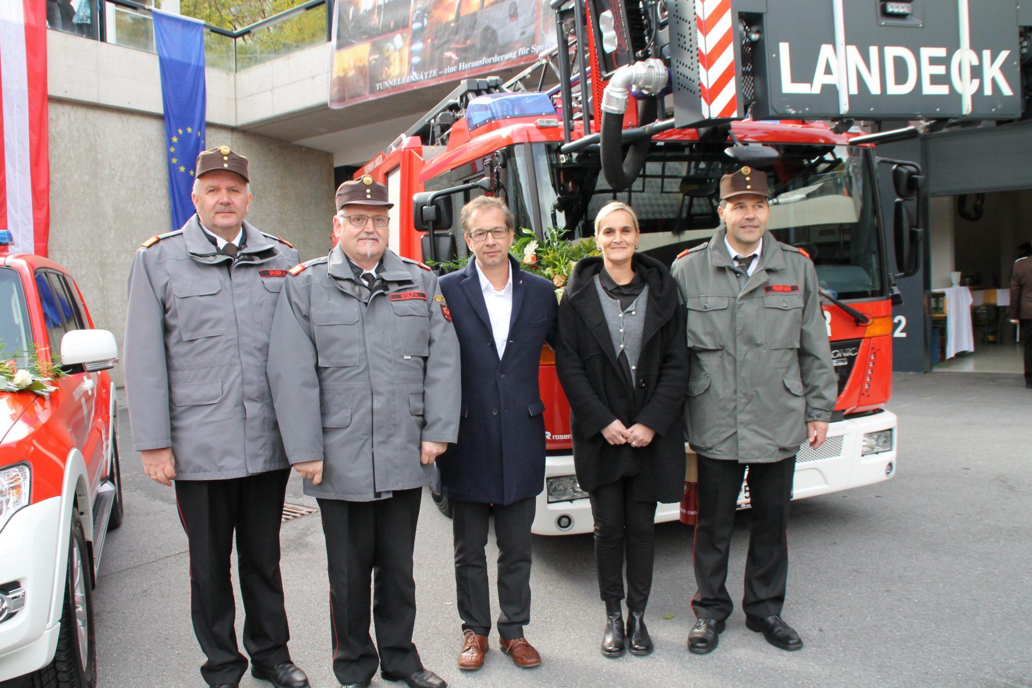 140 Jahre Stadtfeuerwehr Landeck