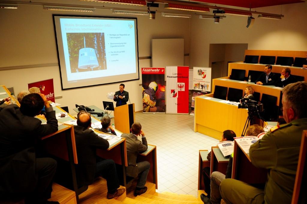Symposium in der LFS Tirol – Produktpräsentation