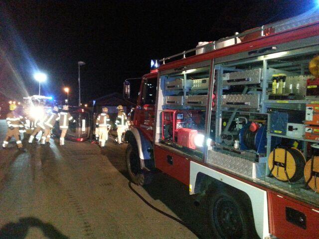 Verkehrsunfall in Fließ/Piller