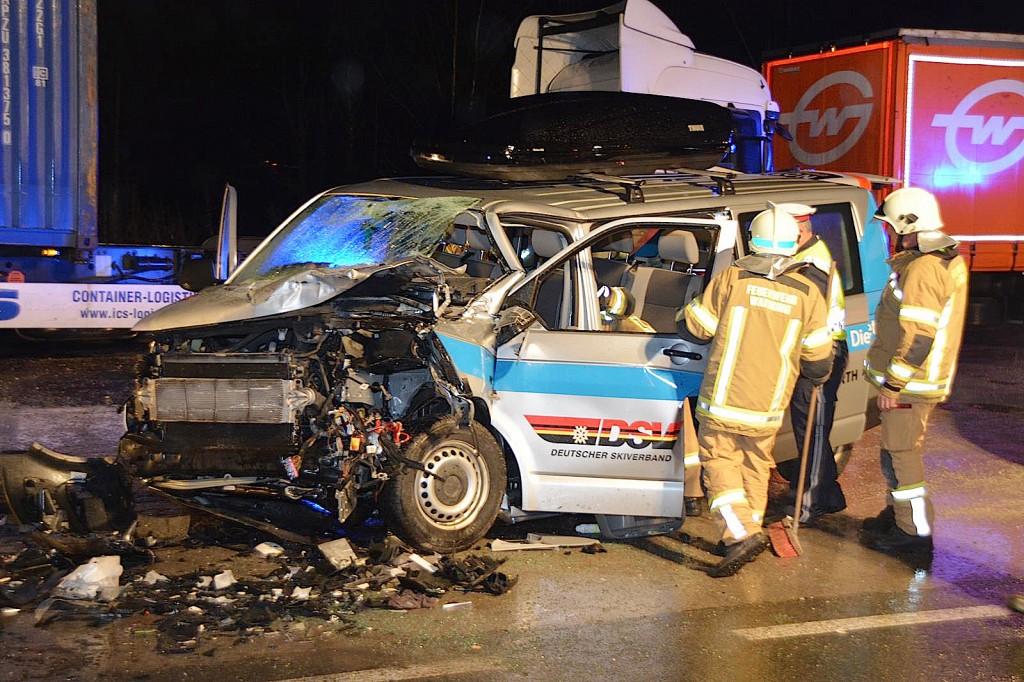Autounfall in Waidring
