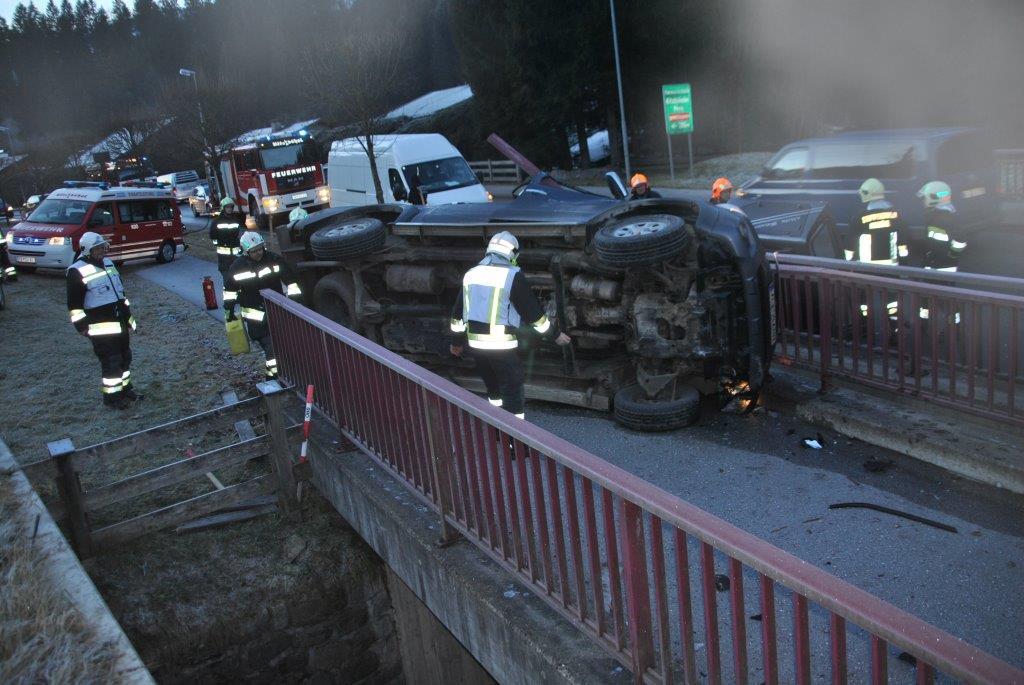 Verkehrsunfall in Kitzbühel
