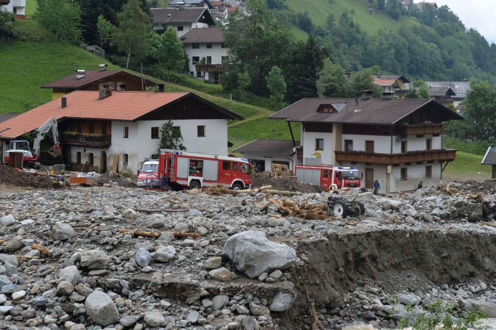Die Tiroler Feuerwehren wurden für ihren Einsatz in Katastrophengebieten nominiert.
