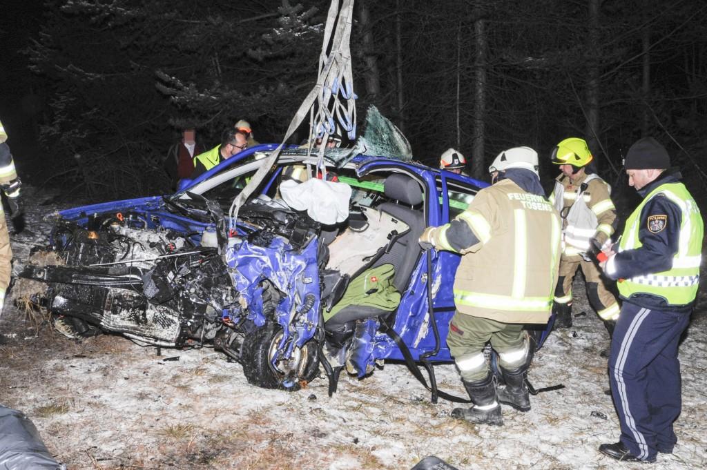 Verkehrsunfall in Tötens