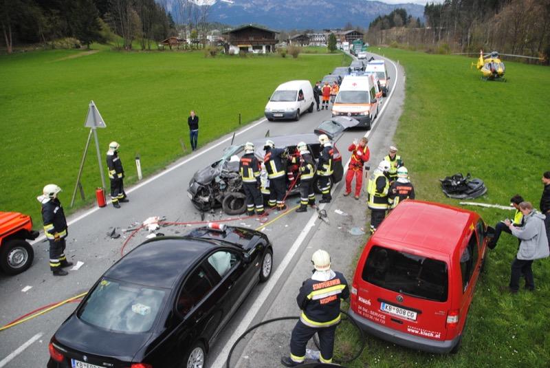 Verkehrsunfall Pass Thurn