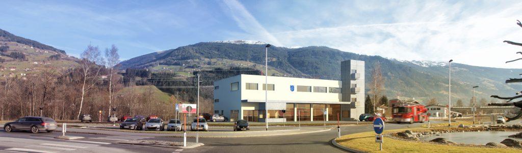 So soll das neue Feuerwehrgerätehaus der Feuerwehr Kaltenbach aussehen.