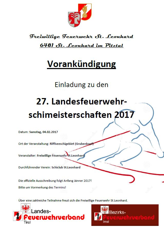 Schimeisterschaft 2017