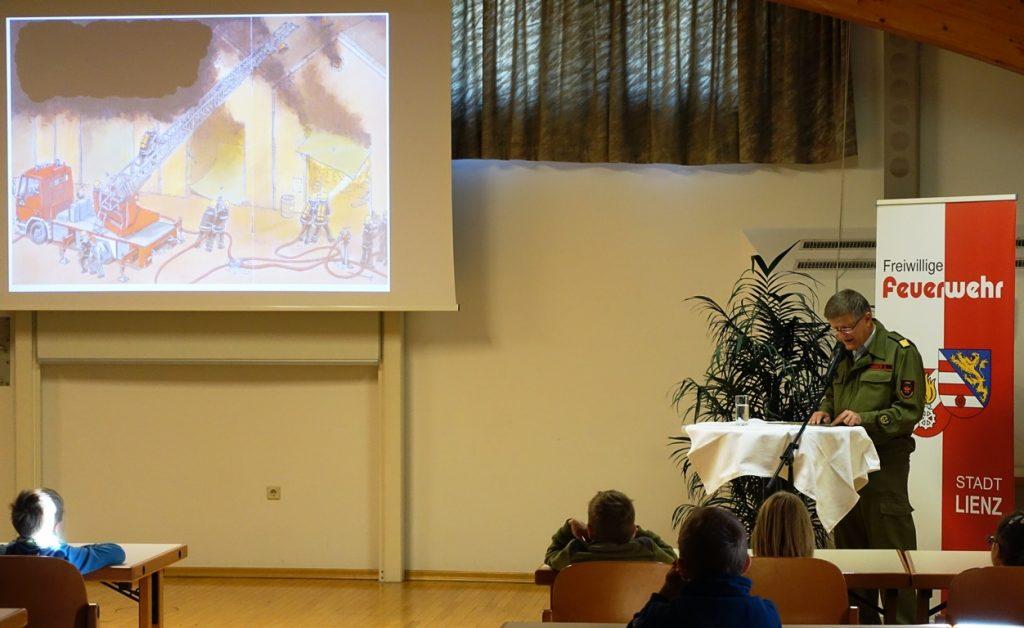 BV Edi Gander fungierte als Vorleser.