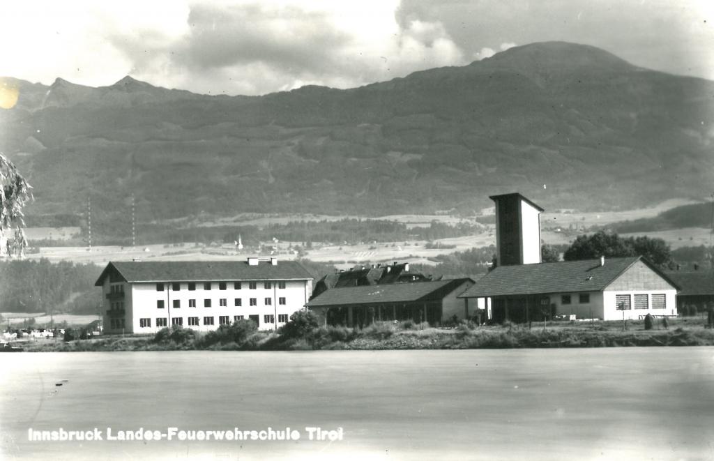 Ansicht Landes-Feuerwehrschule Tirol Innsbruck