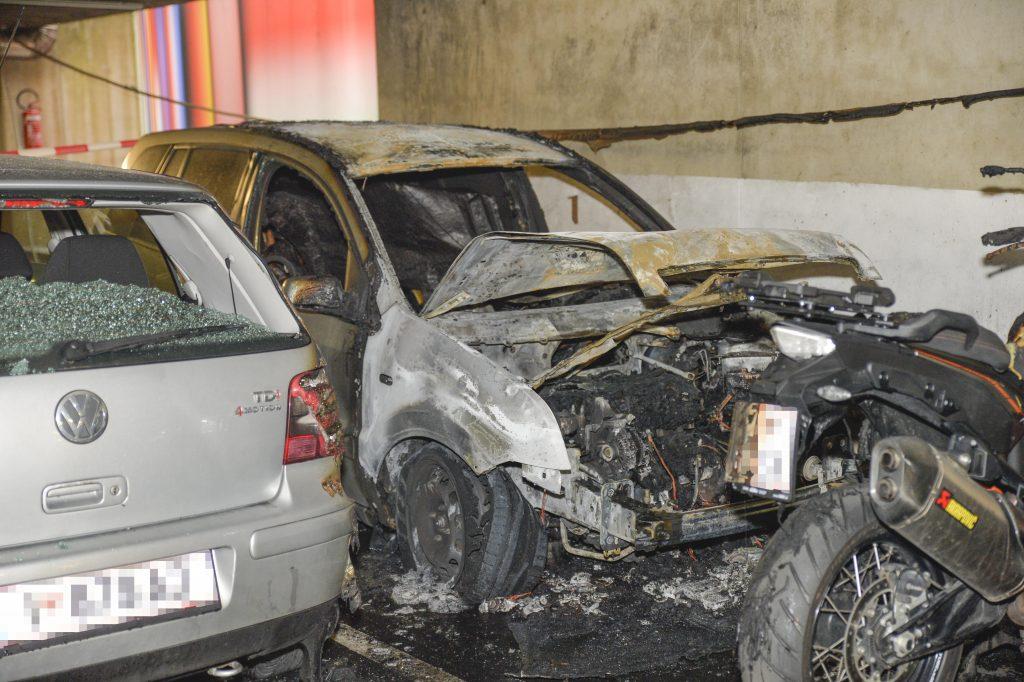 IBK General Eccherstrasse Fahrzeugbrand Tiefgarage 3 Verletze Weitere Infos Polizei